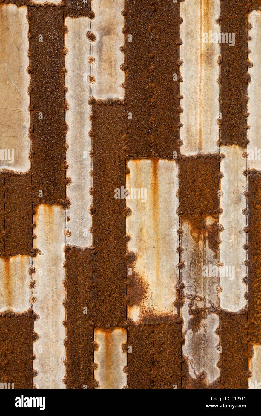 Metalabstracts, Cala bona sea front. - Stock Image