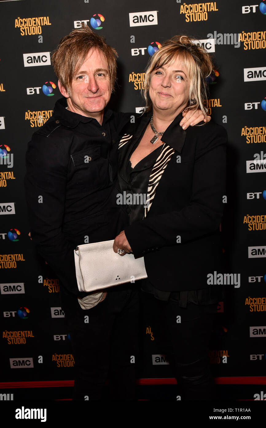 London, UK. 27th Mar 2019. Premiere of documentary about the British film production company, Handmade Films, created by George Harrison of the Beatles on 27 March 2019, London, UK. Credit: Picture Capital/Alamy Live News - Stock Image
