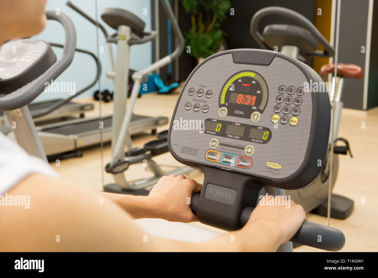 Fitness center - Stock Image