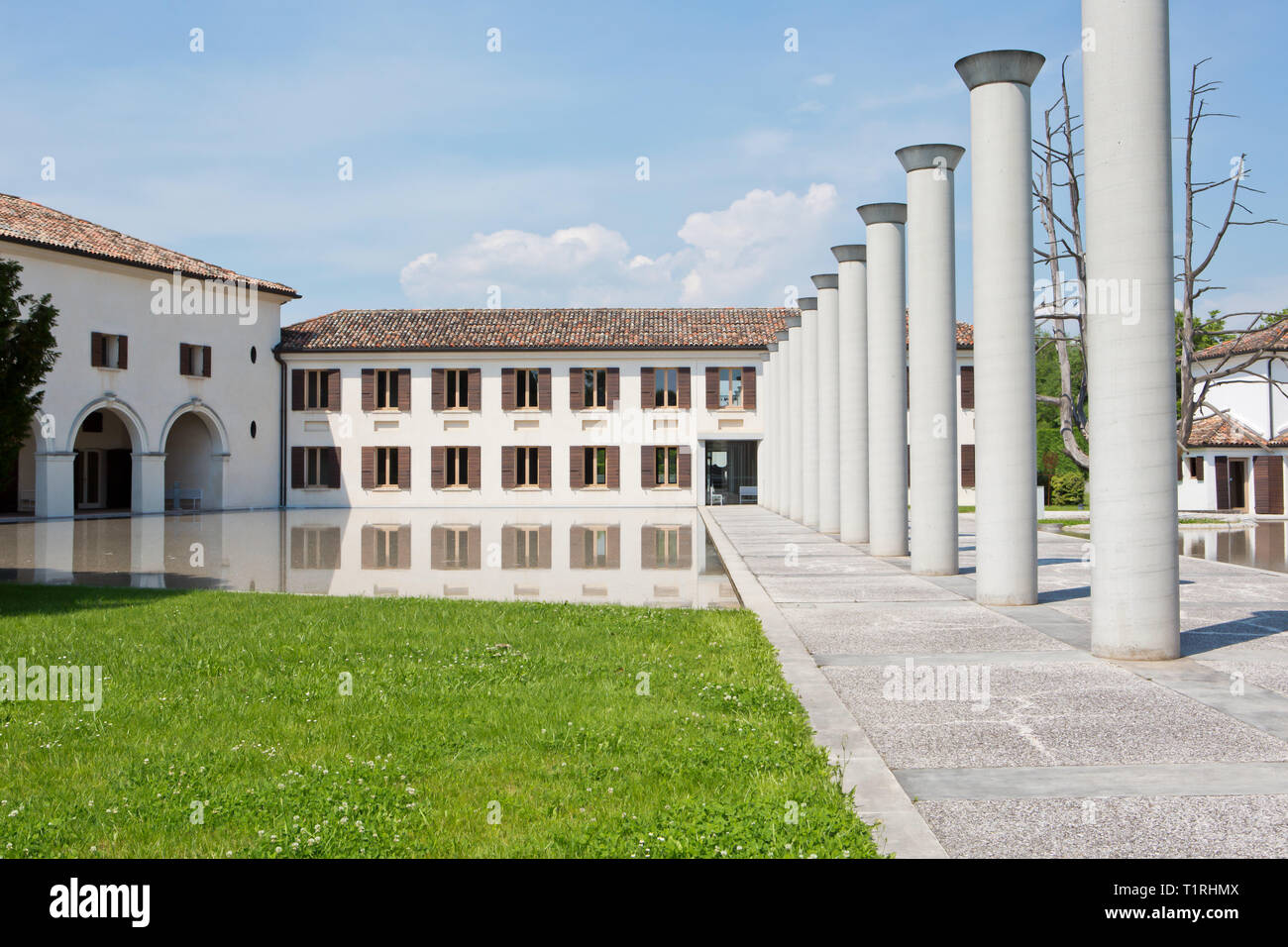 Fabrica, cultural center in italy - Stock Image