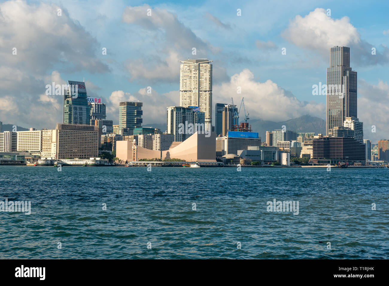 Kowloon Peninsula in Hong Kong SAR - Stock Image