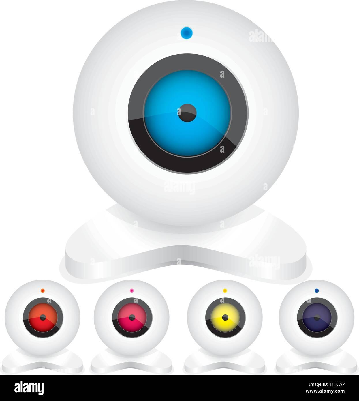 Webcam3 - Stock Vector