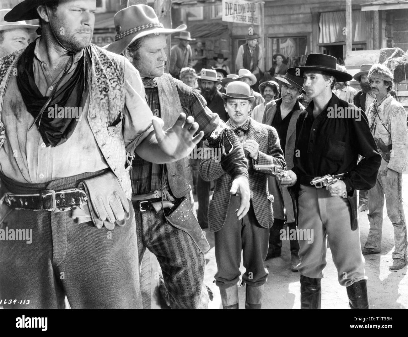Gary Cooper as Wild Bill Hickok Porter Hall THE PLAINSMAN 1936 director Cecil B. DeMille Paramount Pictures - Stock Image