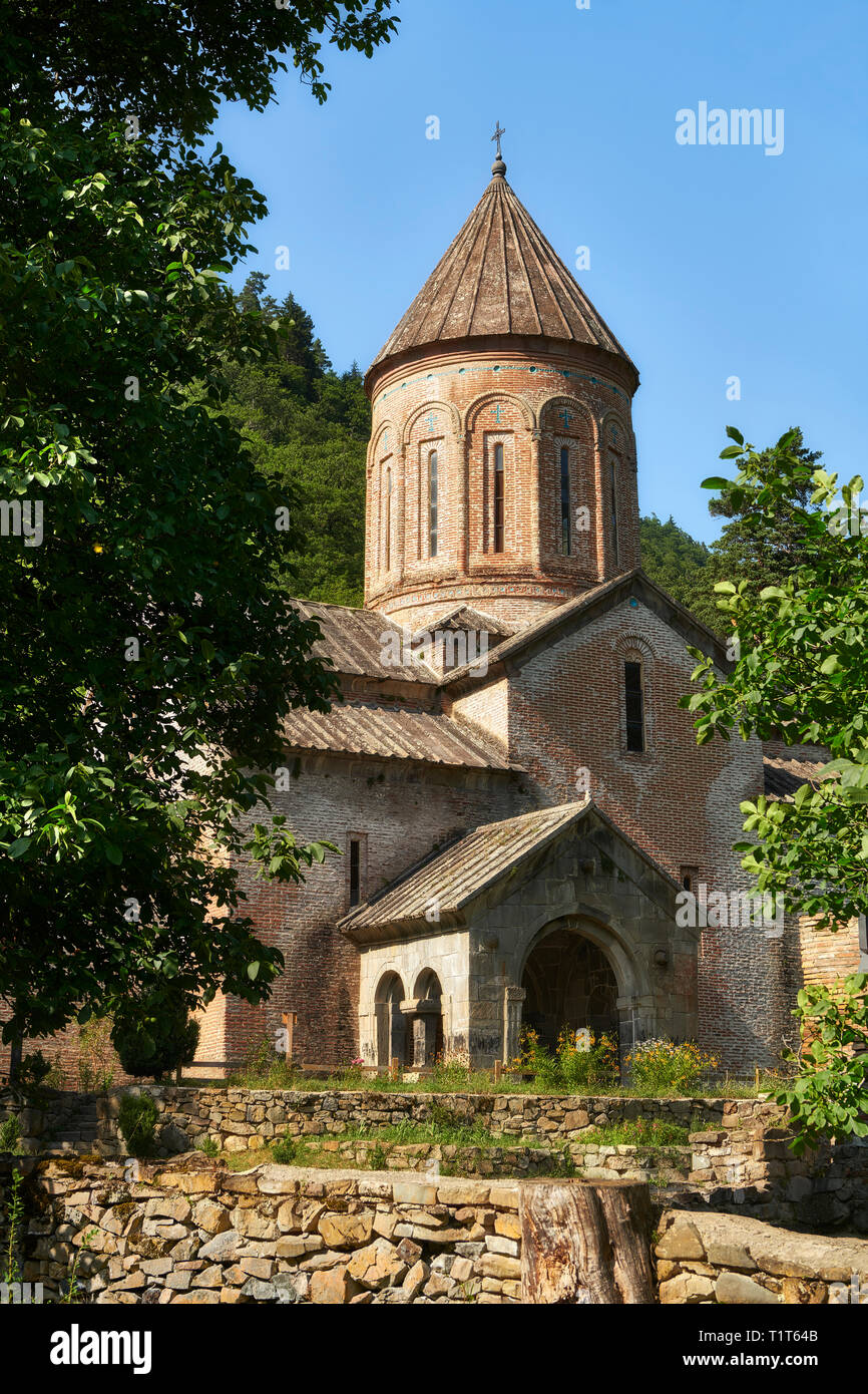 Picture of Timotesubani medieval Orthodox monastery Church of the Holy Dormition (Assumption), Samtskhe-Javakheti region, Georgia Stock Photo