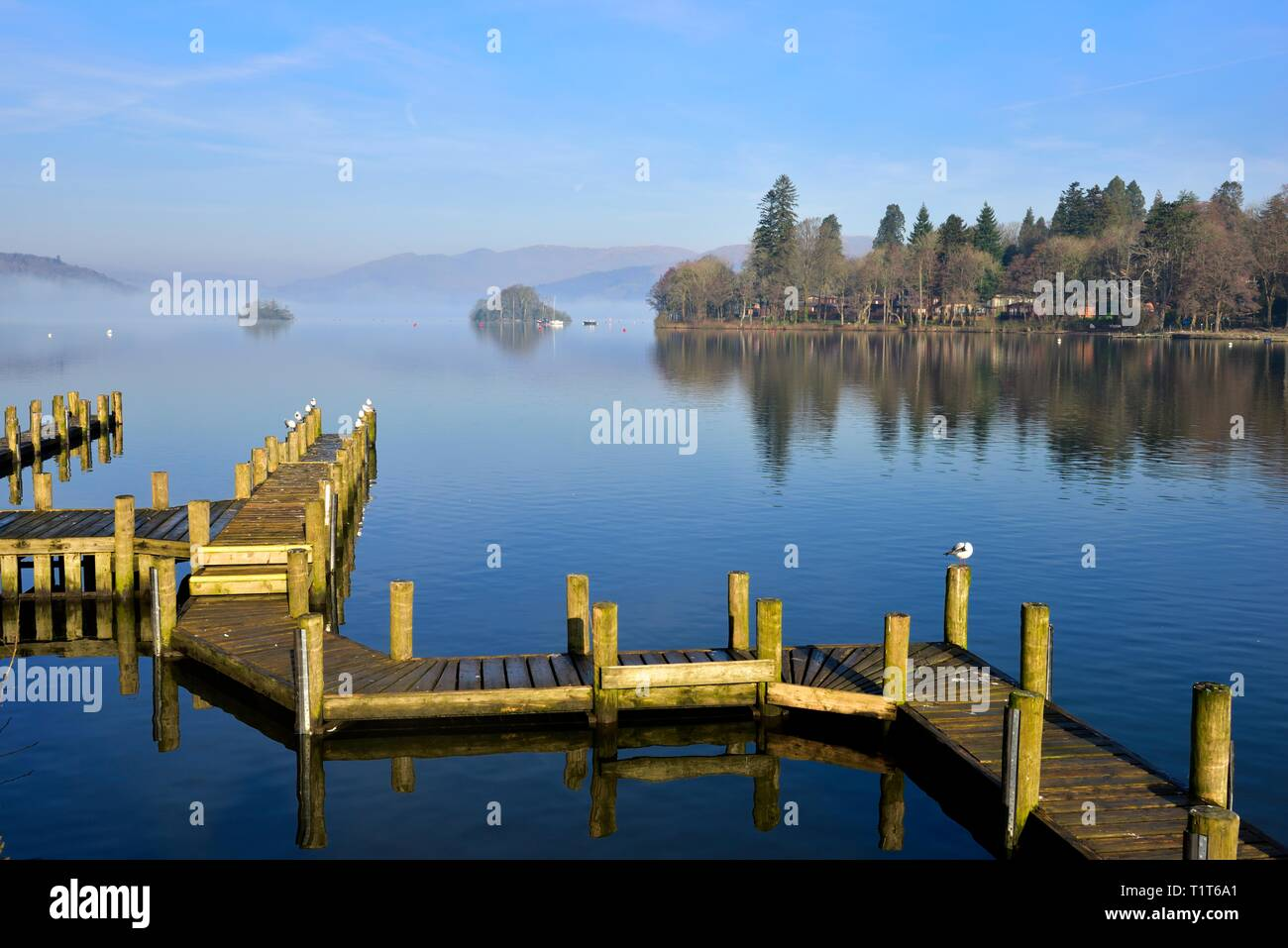 Bowness on Windermere,Lake District,Cumbria,England,UK Stock Photo