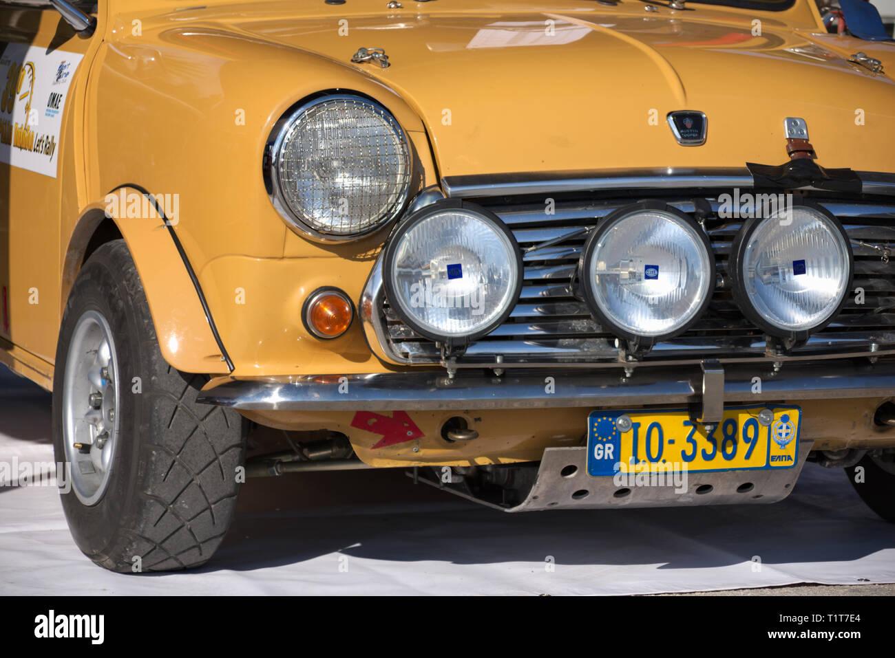 a9f9bd8799dcf7 Historic (Retro) Cars at 39th Palladion Rally of Greece. Mitropoulos -  Tsantzalis with