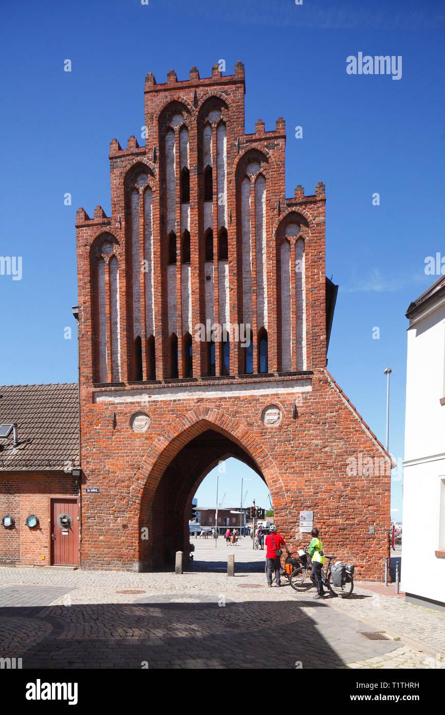 Wassertor, Wismar, Mecklenburg-Vorpommern, Germany, Europe I Wassertor , Wismar, Mecklenburg-Vorpommern, Deutschland, Europa I - Stock Image