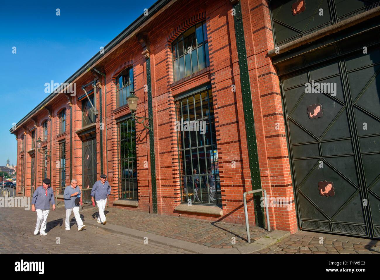 Fischauktionshalle, Grosse Elbstrasse, Altona, Hamburg, Deutschland - Stock Image