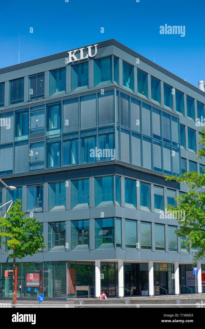 Kuehne Logistics University, Grosser Grasbrook, Hafencity, Hamburg, Deutschland, Kühne Logistics University - Stock Image