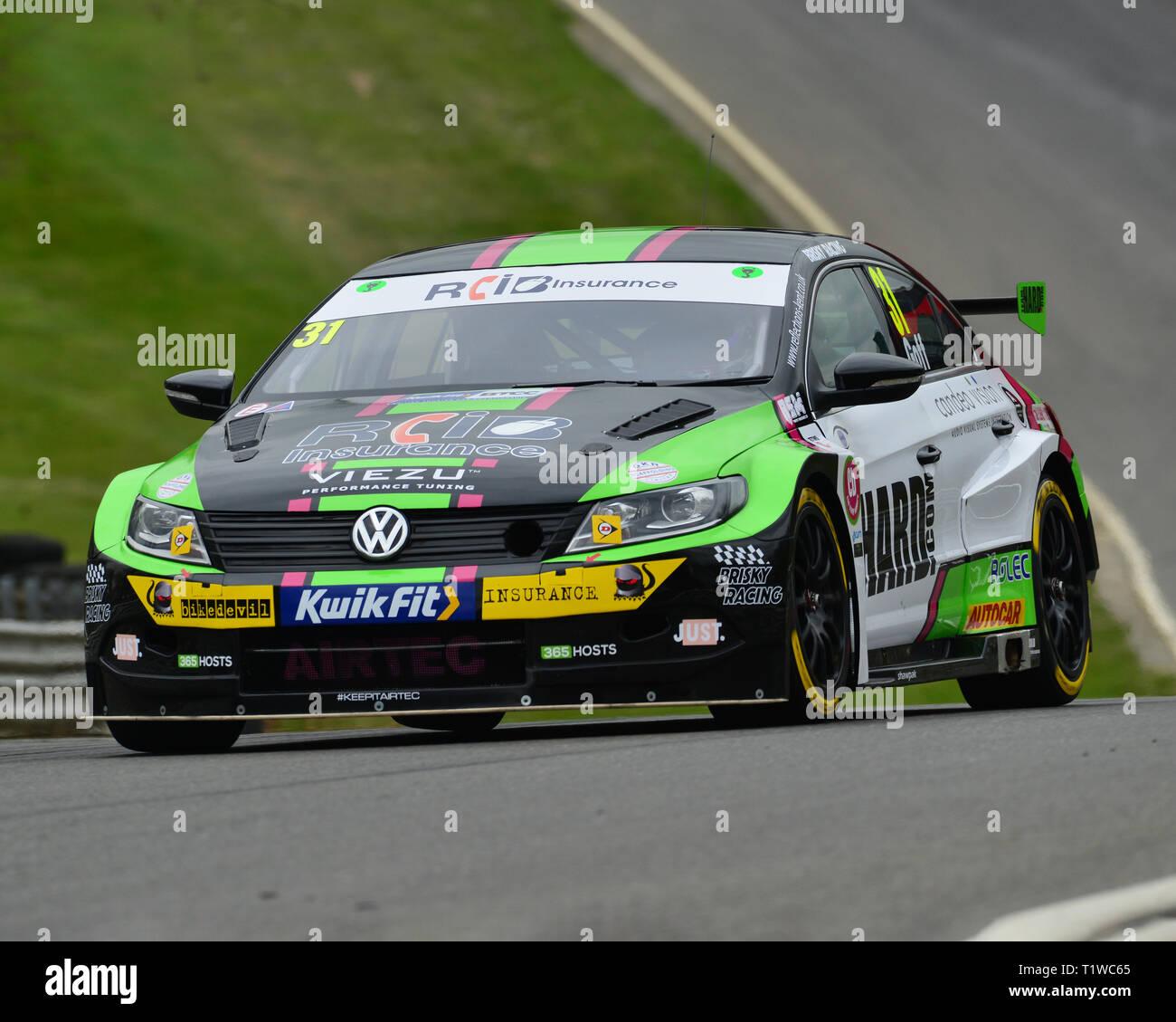 37421150 Jack Goff, Volkswagen CC, BTCC launch day and media event, Brands Hatch,