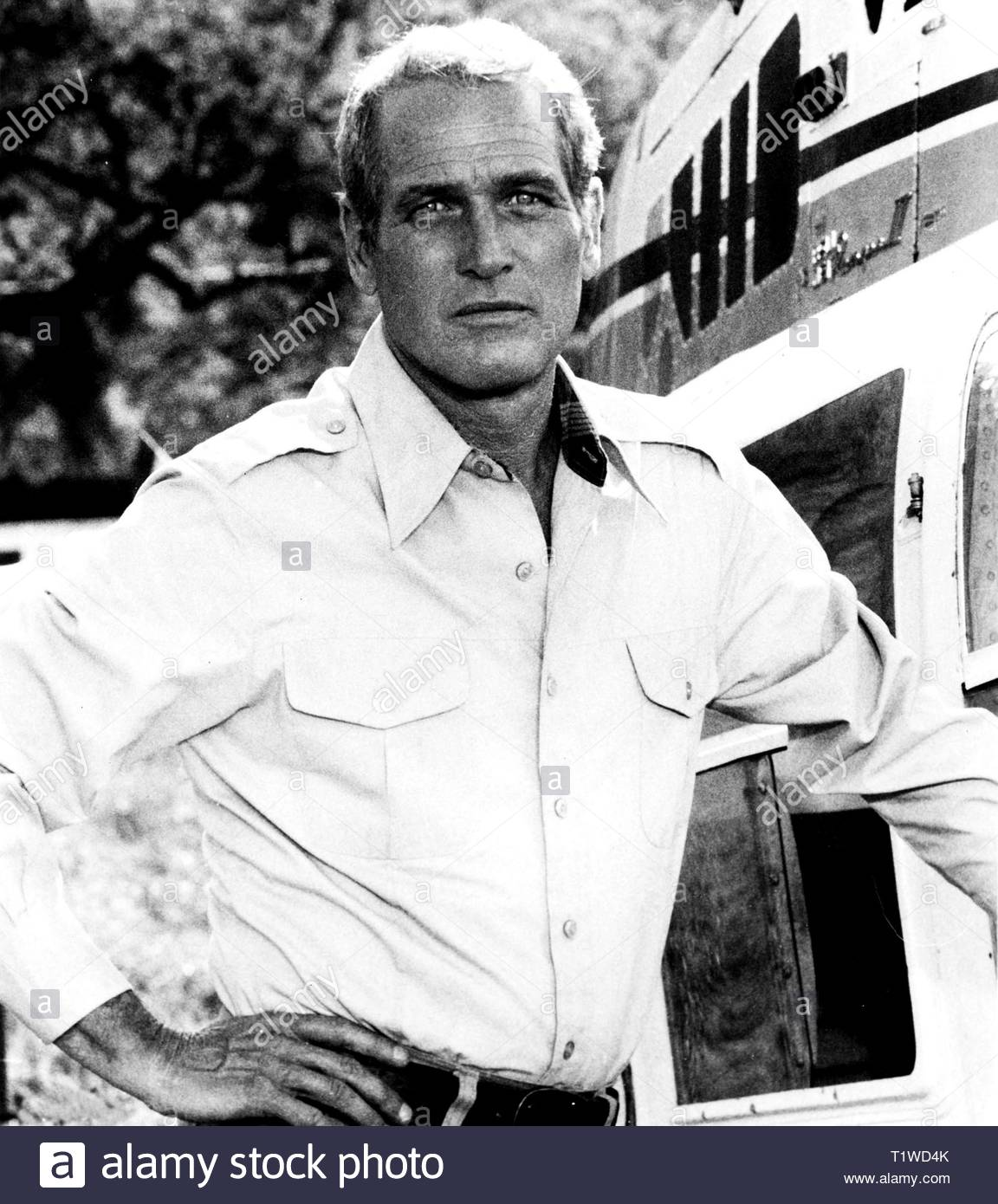 Film still featuring Paul Newman in When Time Ran Out 1980. Credit: 376189Globe Photos/MediaPunch - Stock Image