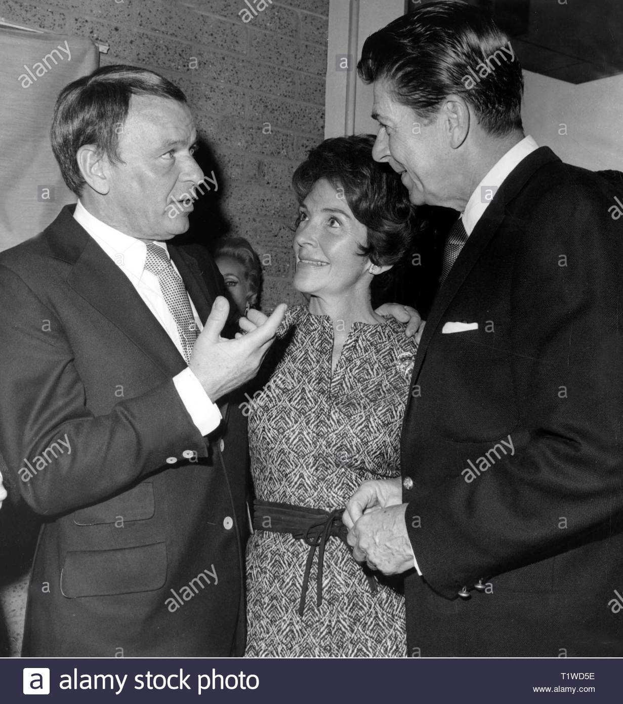 Image result for b & w photo of the reagan and sinatra and dean martin