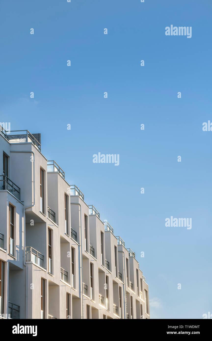 Detail of modern architecture in Rosendal. Uppsala. Sweden, Scandinavia. - Stock Image