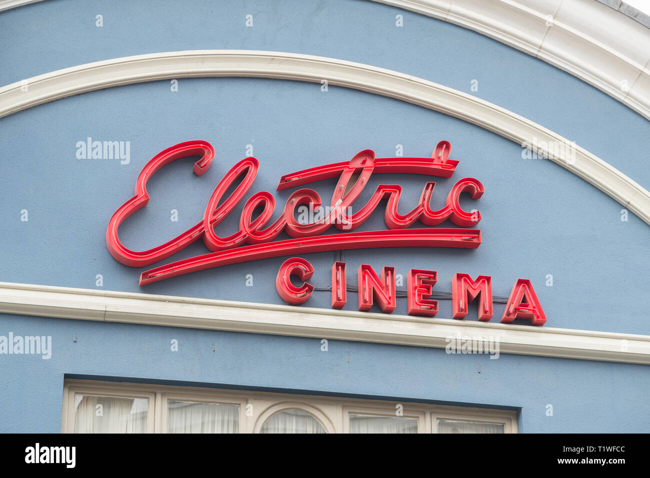 Electric Cinema, London, UK - Stock Image
