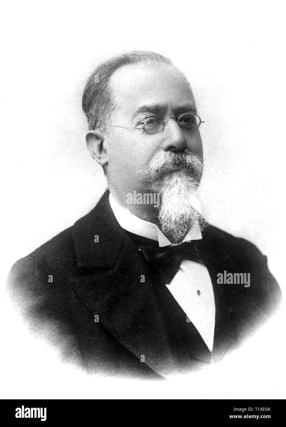CESARE LOMBROSO (1835-1909) Italian criminologist - Stock Image