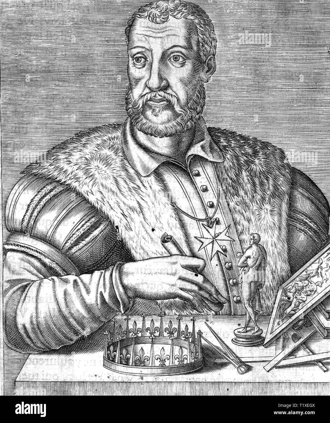 COSIMO di MEDICI(1389-1464) Italian banker and politician - Stock Image