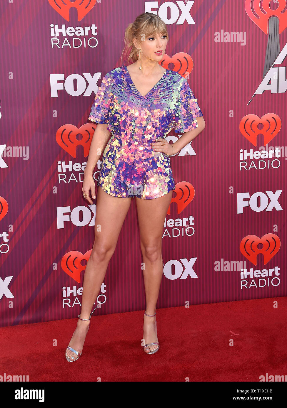 TAylor swift US singer at the 2019 iHeartRadio Music Awards