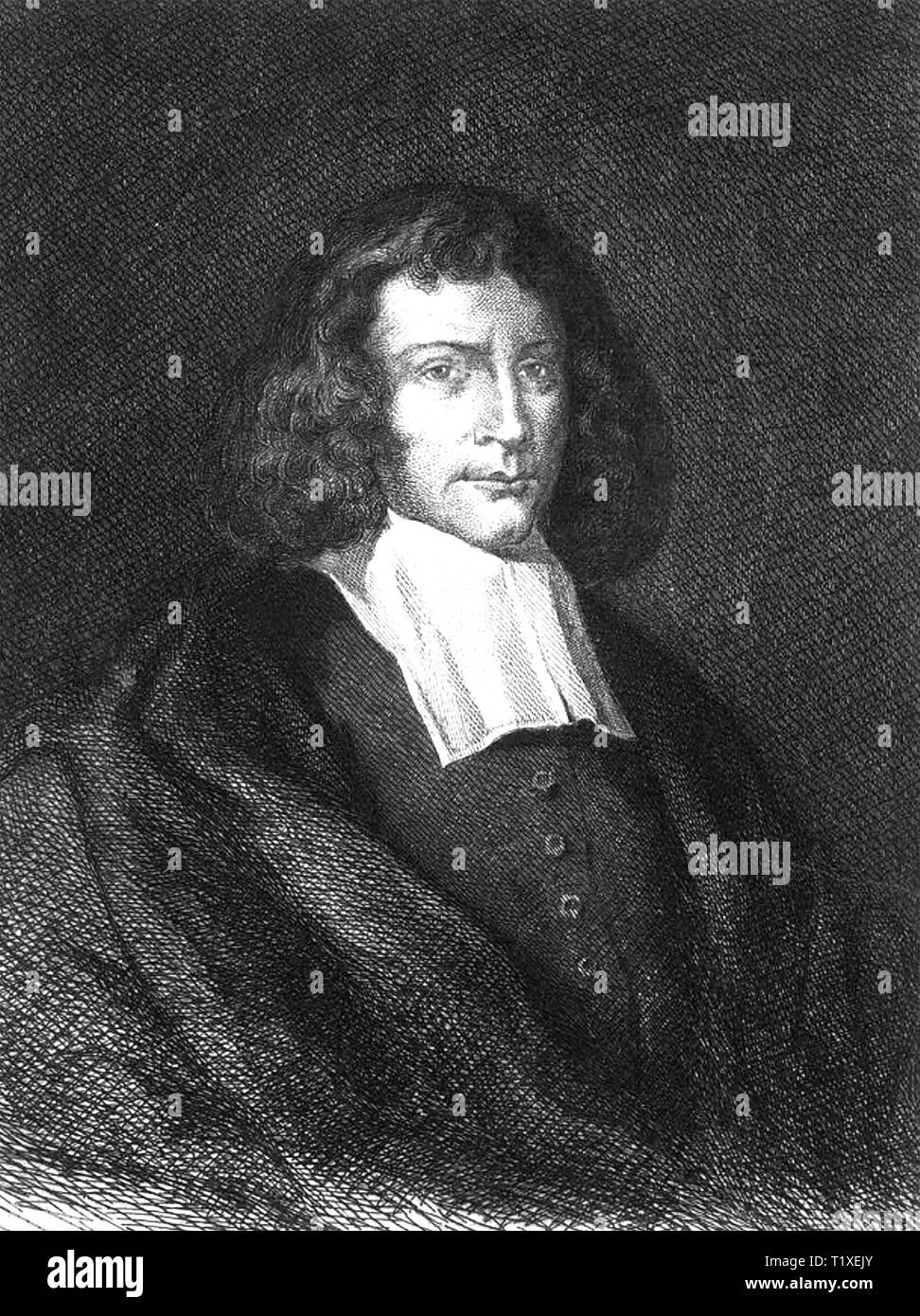 BARUCH SPINOZA (1632-1677) Dutch philosopher Stock Photo
