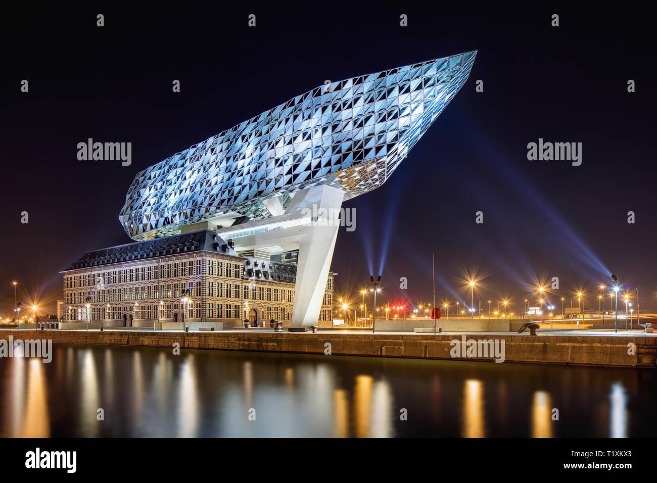 Antwerp Port House Zaha Hadid Set of 3 Buy 3 Get 30/% off| Art Print Museum aan Stroom Belgium Architecture Photo Digital Download