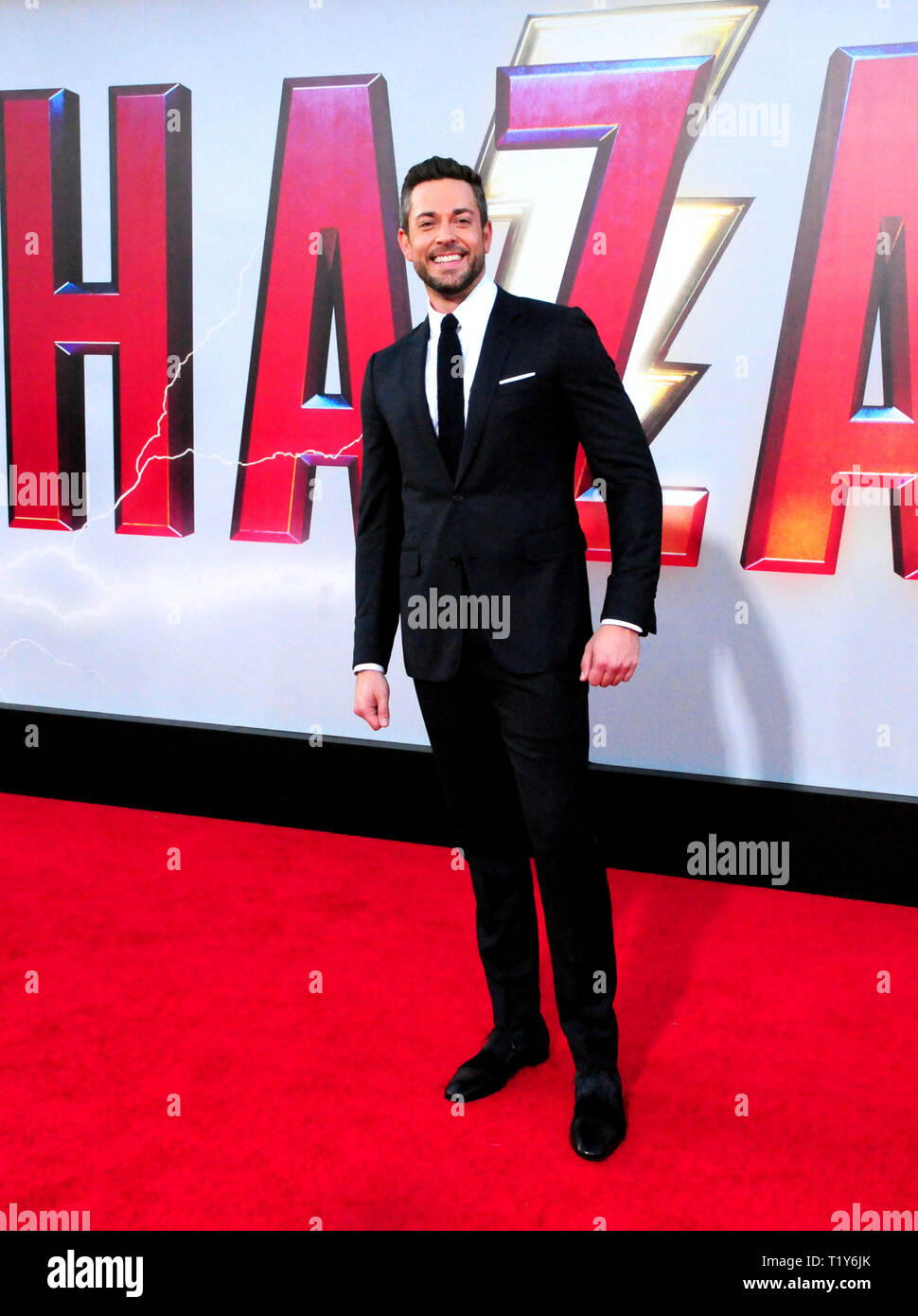 LOS ANGELES, CA - MARCH 28: Actor Zachary Levi attends the