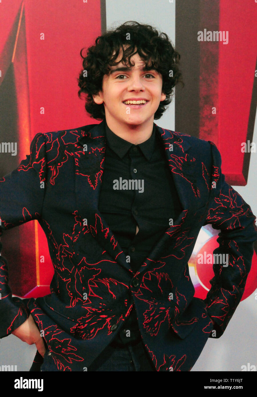 LOS ANGELES, CA - MARCH 28: Actor Jack Dylan Grazer attends