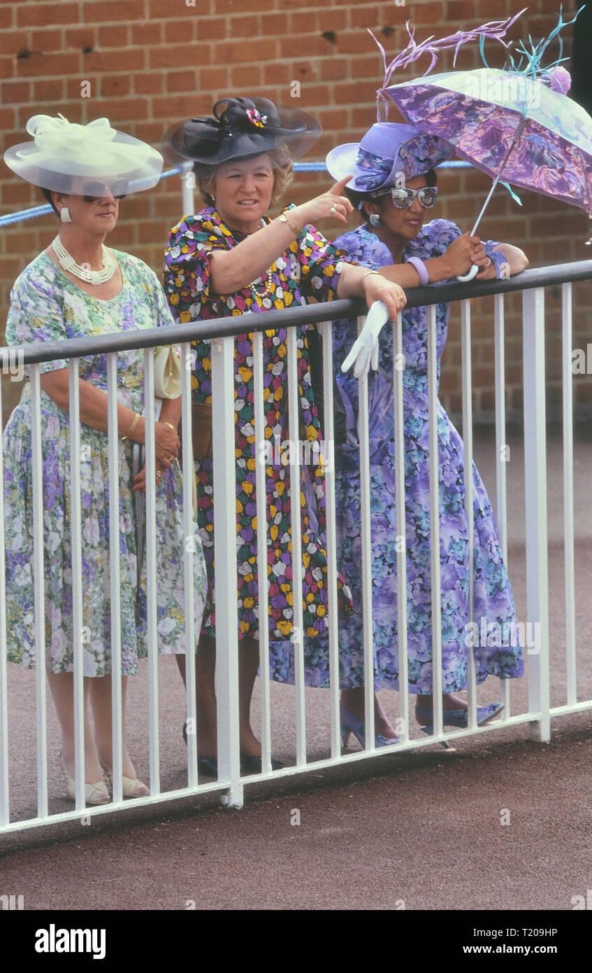 Ladies day at Royal Ascot, Berkshire, England, UK - Stock Image