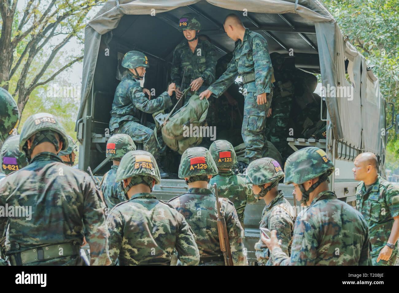 Thai Infantry Stock Photos & Thai Infantry Stock Images - Alamy