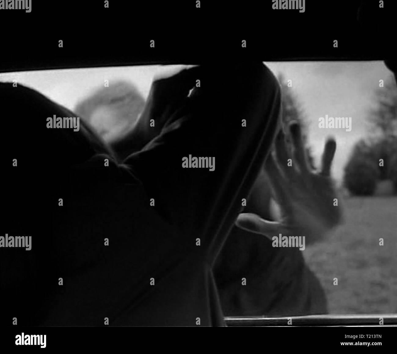 Night of the Living Dead Screenshot Stock Photo