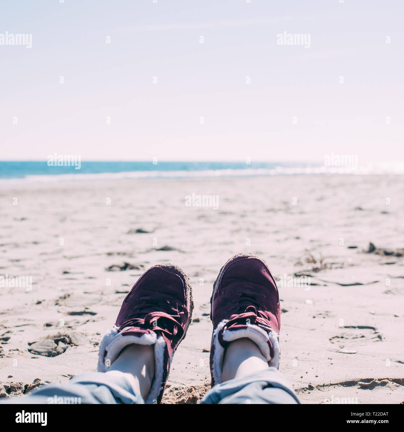 Woman At Beach Quotes Stock Photos & Woman At Beach Quotes ...