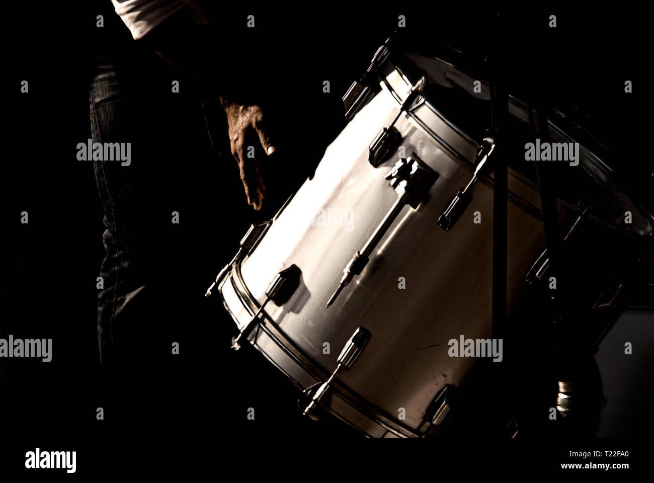 Drummer - Stock Image