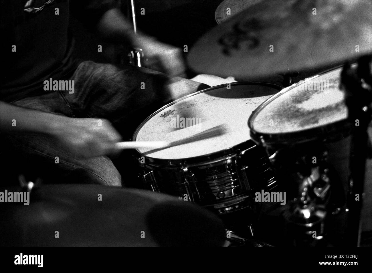 Drums of Jazz - Stock Image