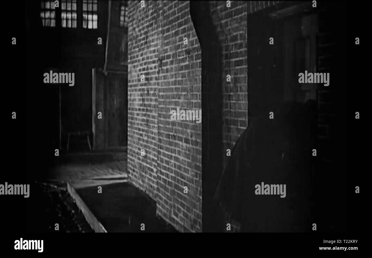 Dr Jekyll and Mr Hyde 1920 screenshot - Stock Image