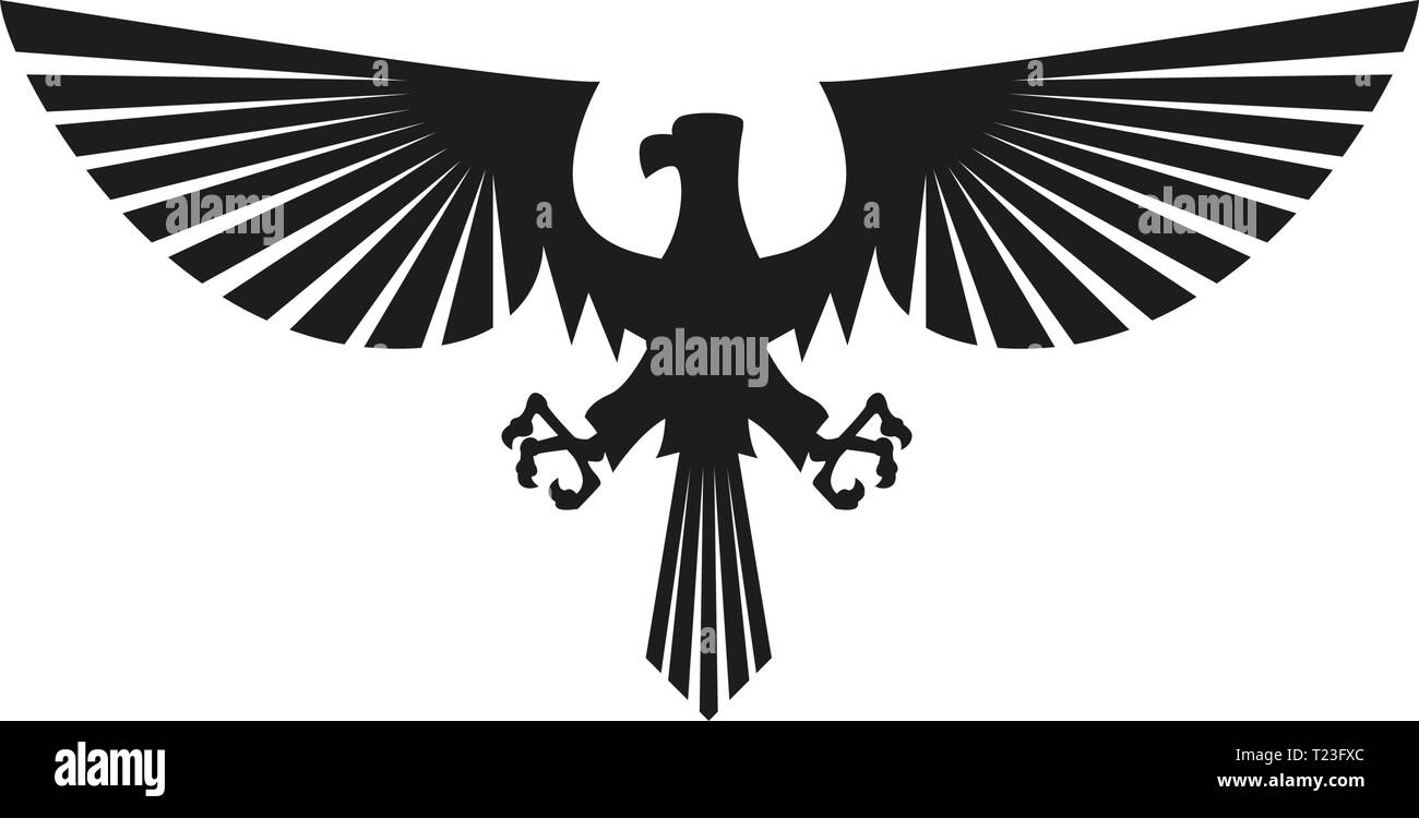 Vector Black Eagle Silhouette Isolated On White Background Symbol And Sign Illustration Design Stock Vector Image Art Alamy Pikbest has 65 eagle silhouette design images templates for free. https www alamy com vector black eagle silhouette isolated on white background symbol and sign illustration design image242252820 html