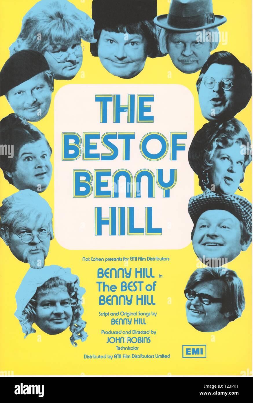 Benny Hill  TV Show Advertising Handbill NEW Poster