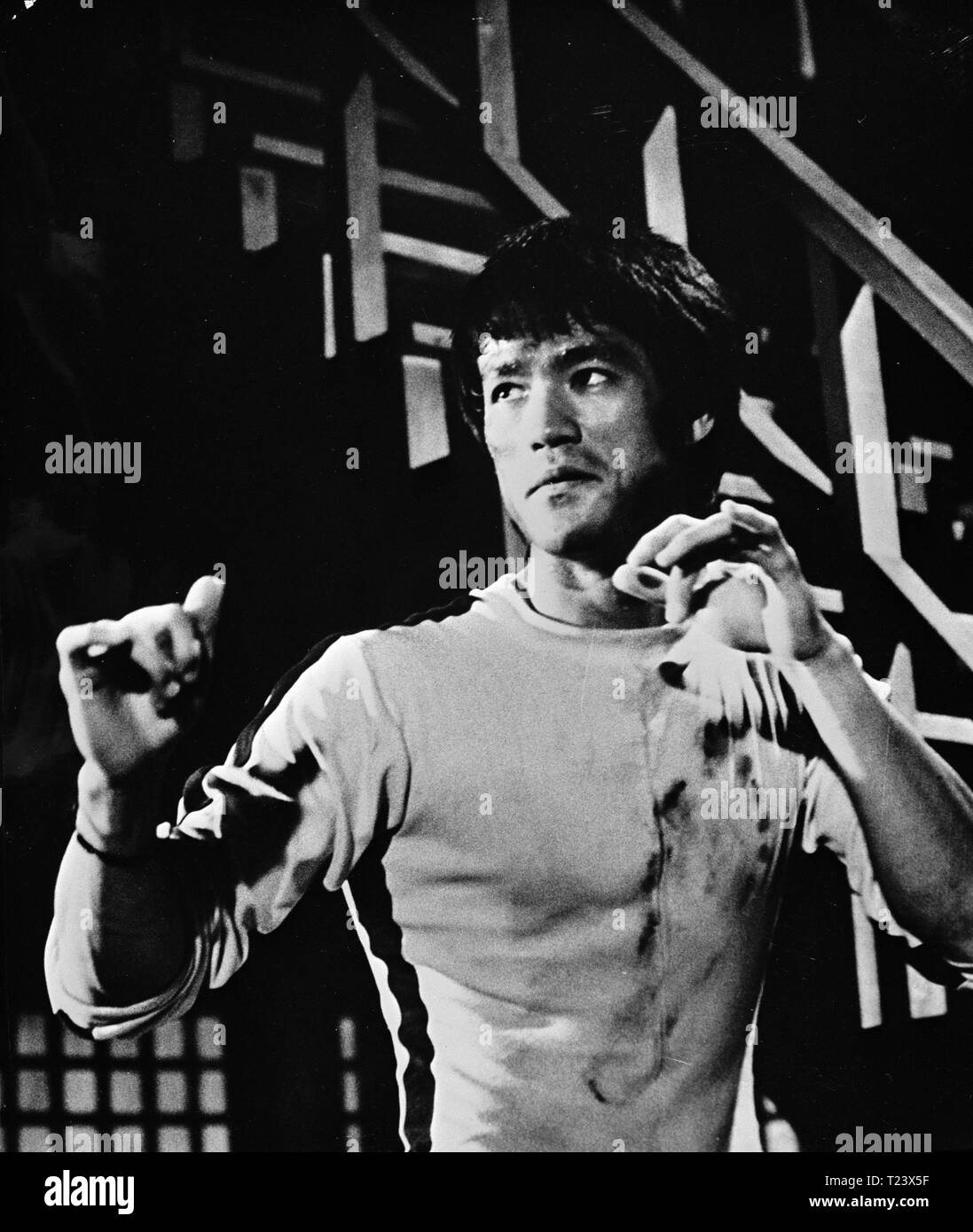 Bruce Lee Game Of Death Black And White Stock Photos Images Alamy