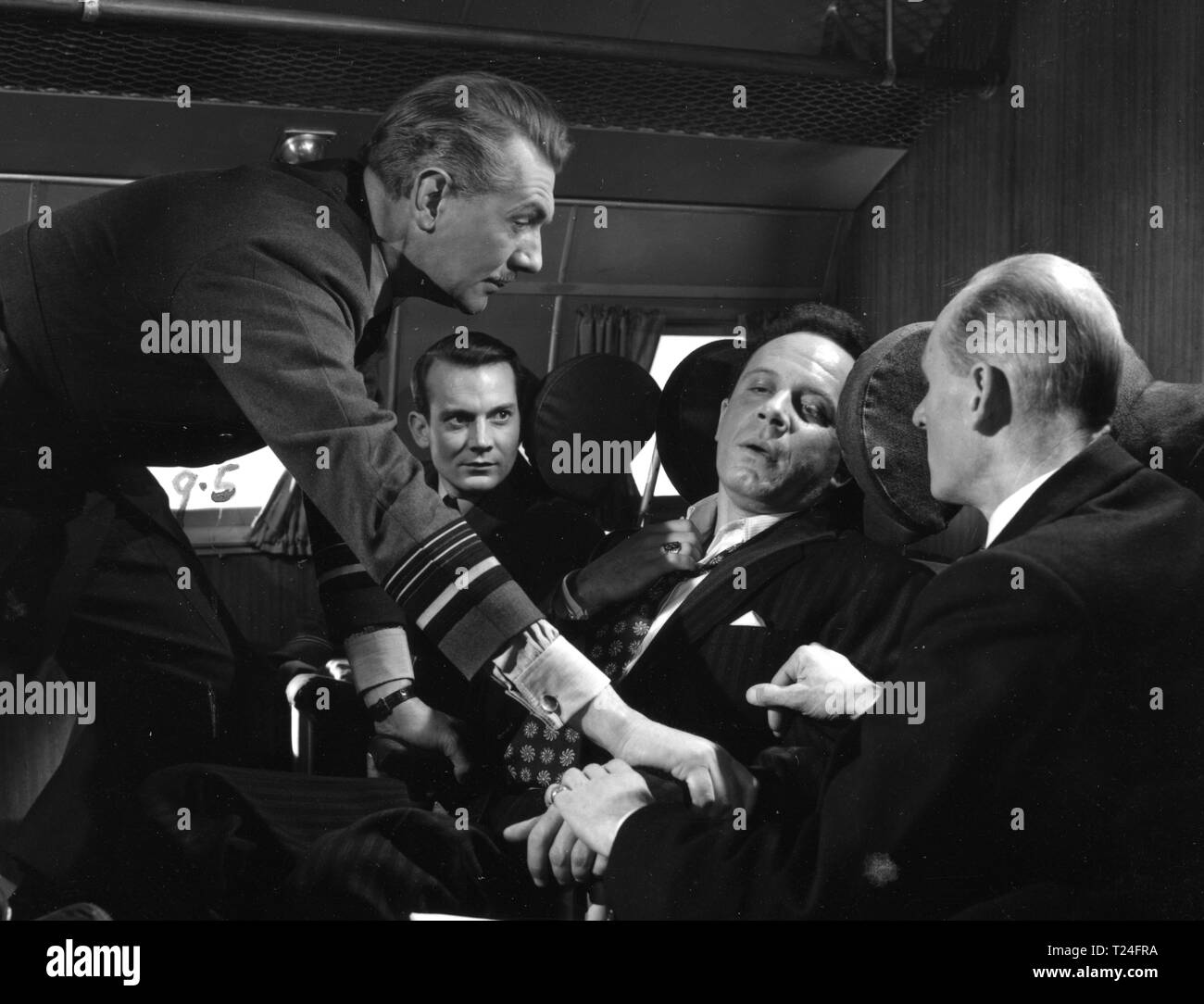 The Night My Number Came Up (1955)  Michael Redgrave, Denholm Elliott, George Rose,      Date: 1955 - Stock Image