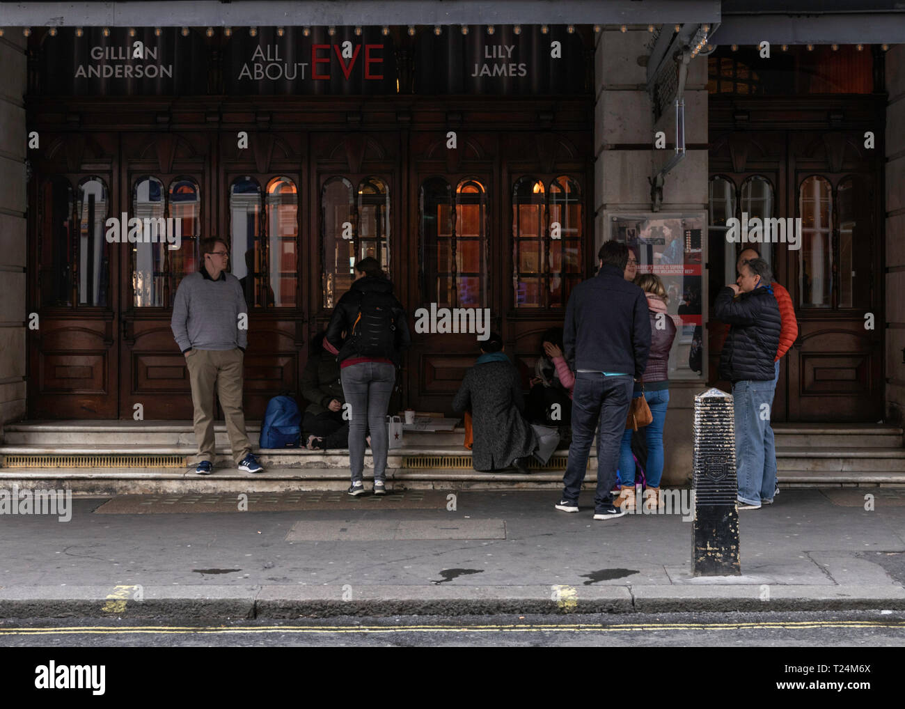 London life at night - Stock Image