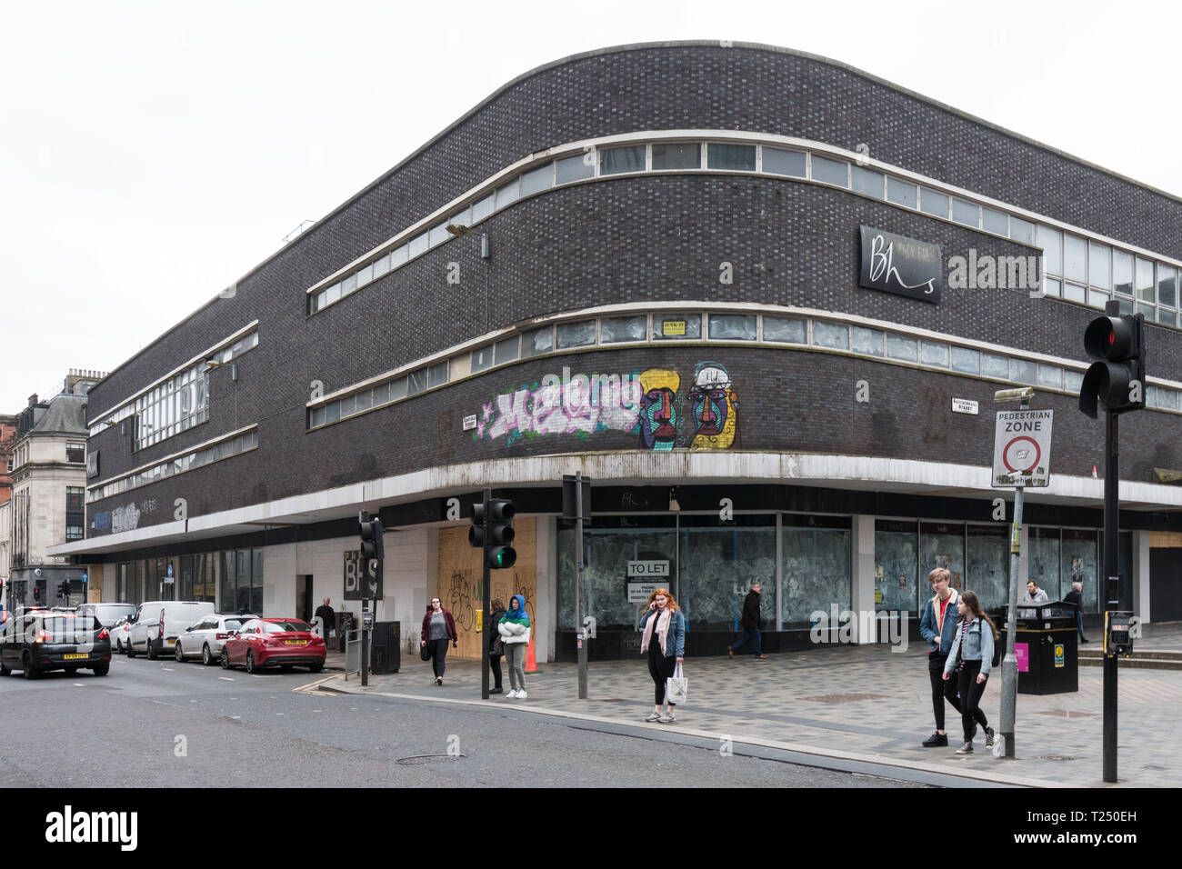 empty BHS store in Sauchiehall Street, Glasgow, Scotland, UK Stock Photo
