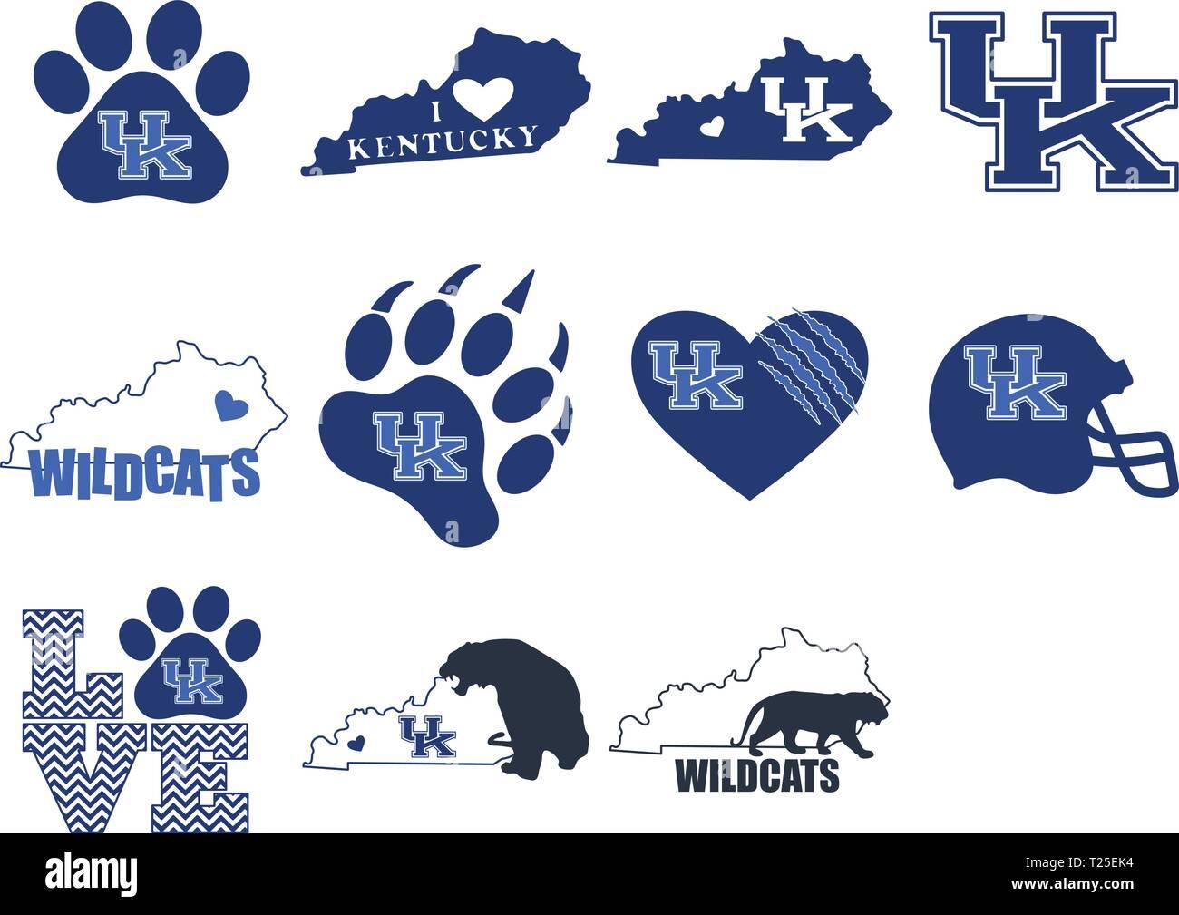 Kentucky Wildcats Fußball Logo ClipArt - Design png herunterladen - 800*758  - Kostenlos transparent Strichzeichnungen png Herunterladen.
