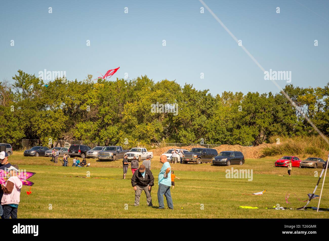 Kechi Kite Festival - 2018 - Stock Image