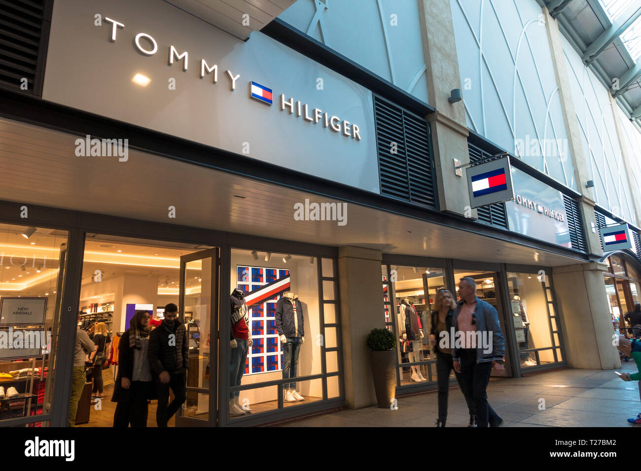 c31306e7b The Tommy Hilfiger clothes and fashion store in Gunwharf Quays in  Portsmouth