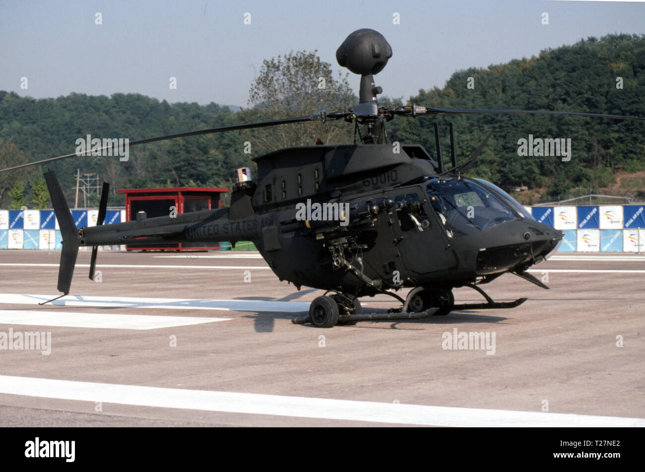 US ARMY / United States Army Bell OH-58D Kiowa - Stock Image