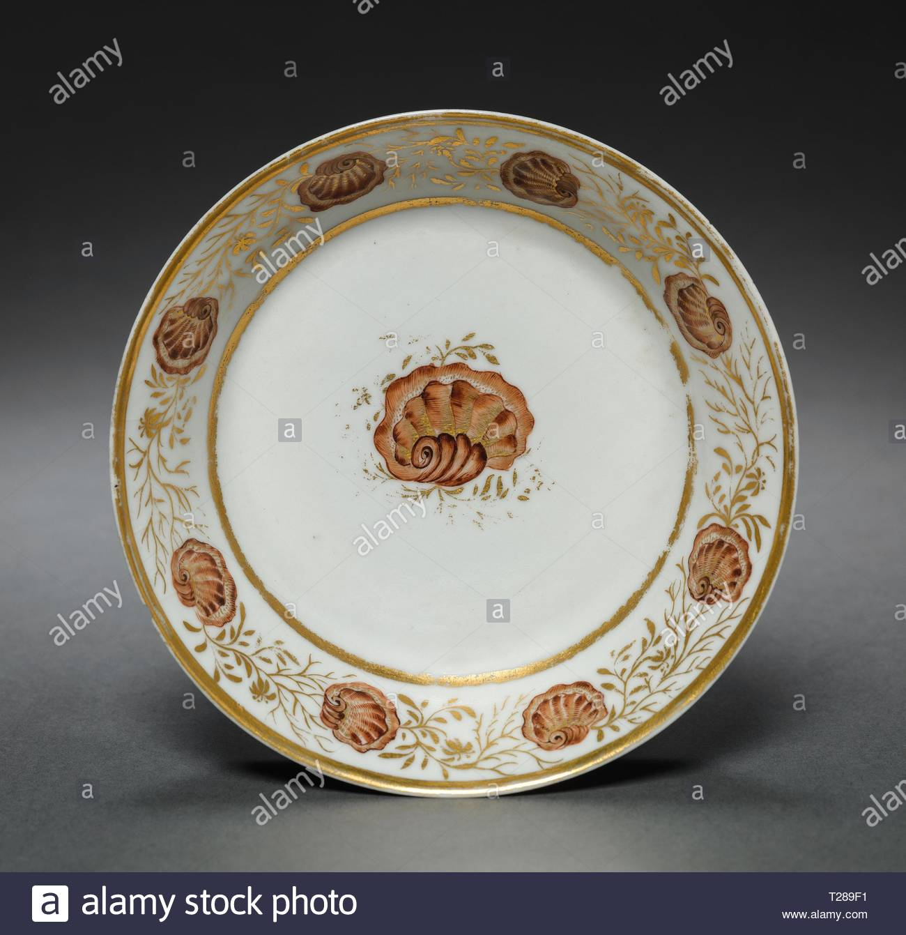 Antiques 19th Century Chinese Export Porcelain Tea Bowl & Saucer Easy To Use Radient Antique 18th