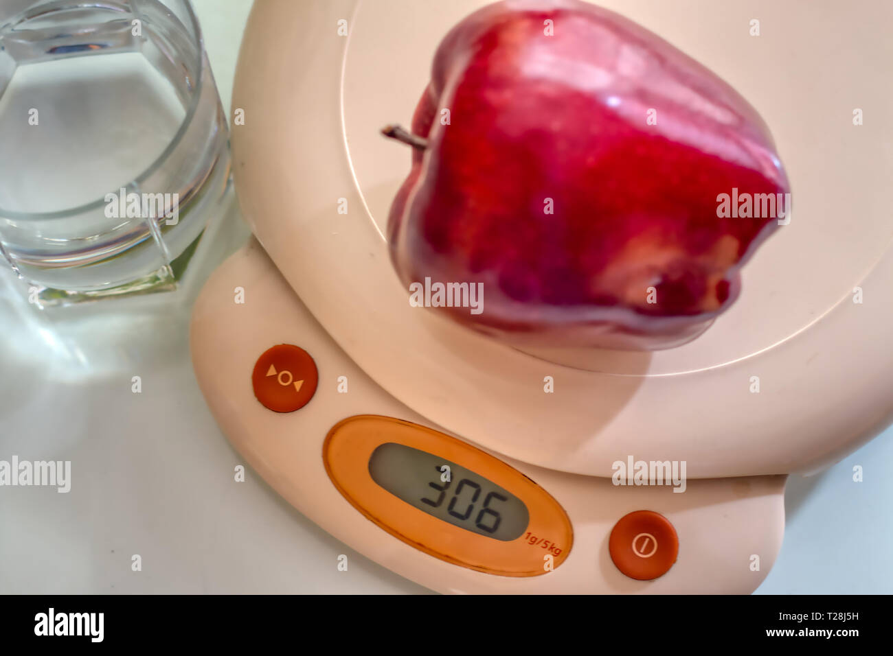 Concept of making a healthy diet Stock Photo