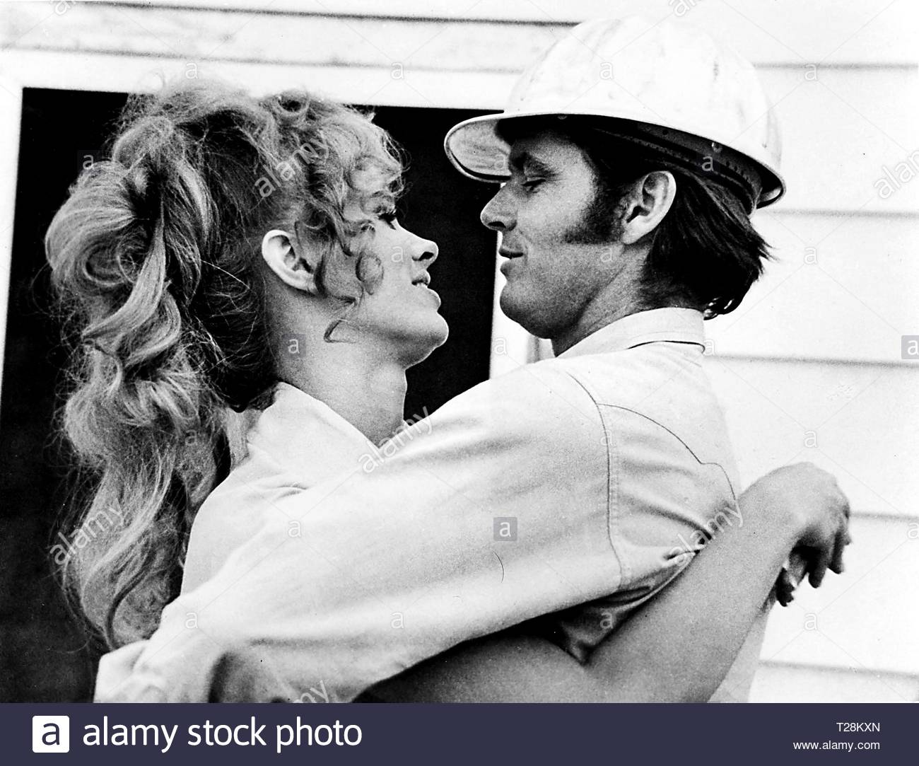 Film still of Jack Nicholson and Karen Black in Five Easy Pieces  Credit: 358700Globe Photos/MediaPunch - Stock Image