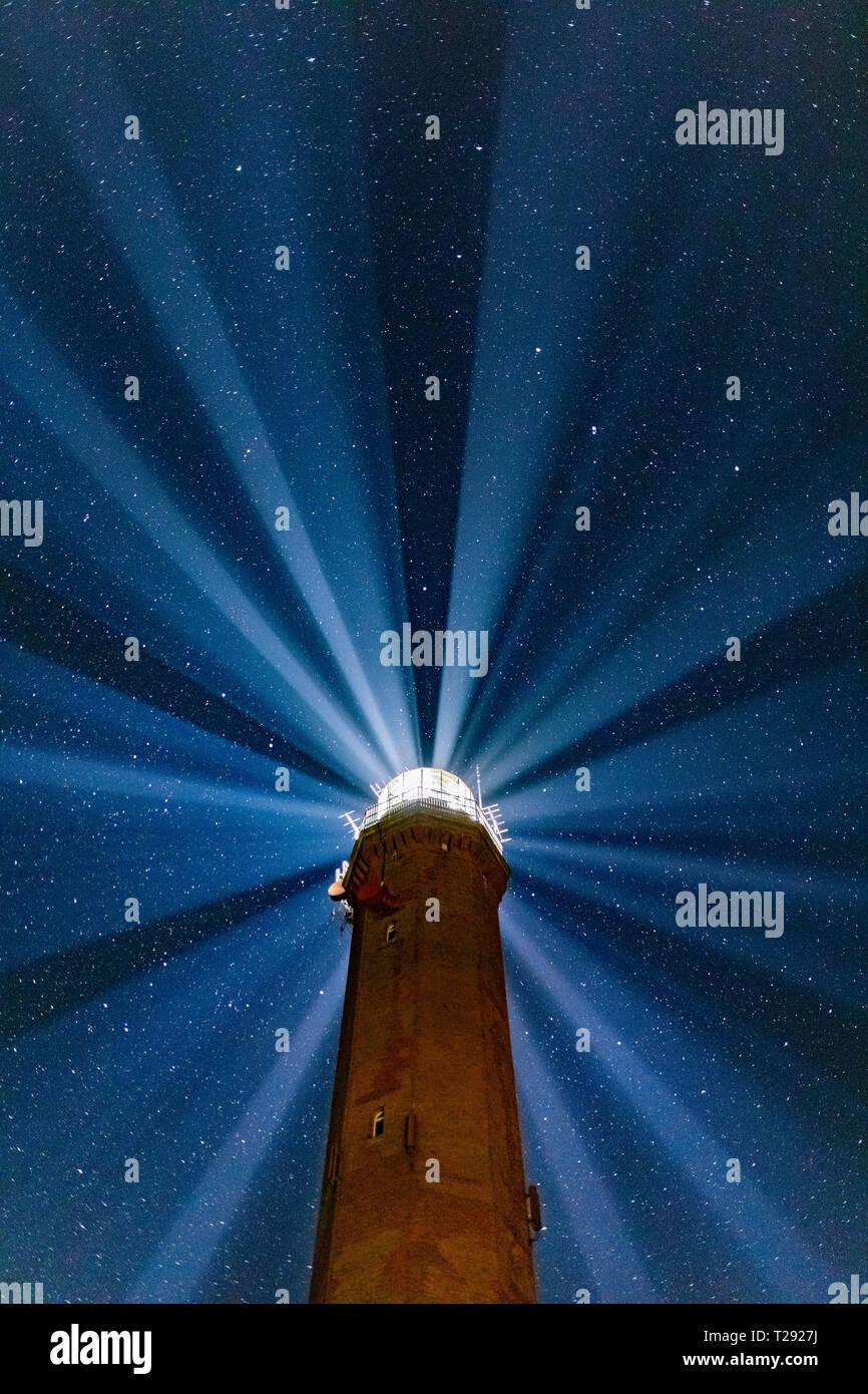 Der Leuchtturm von Norderney - Stock Image