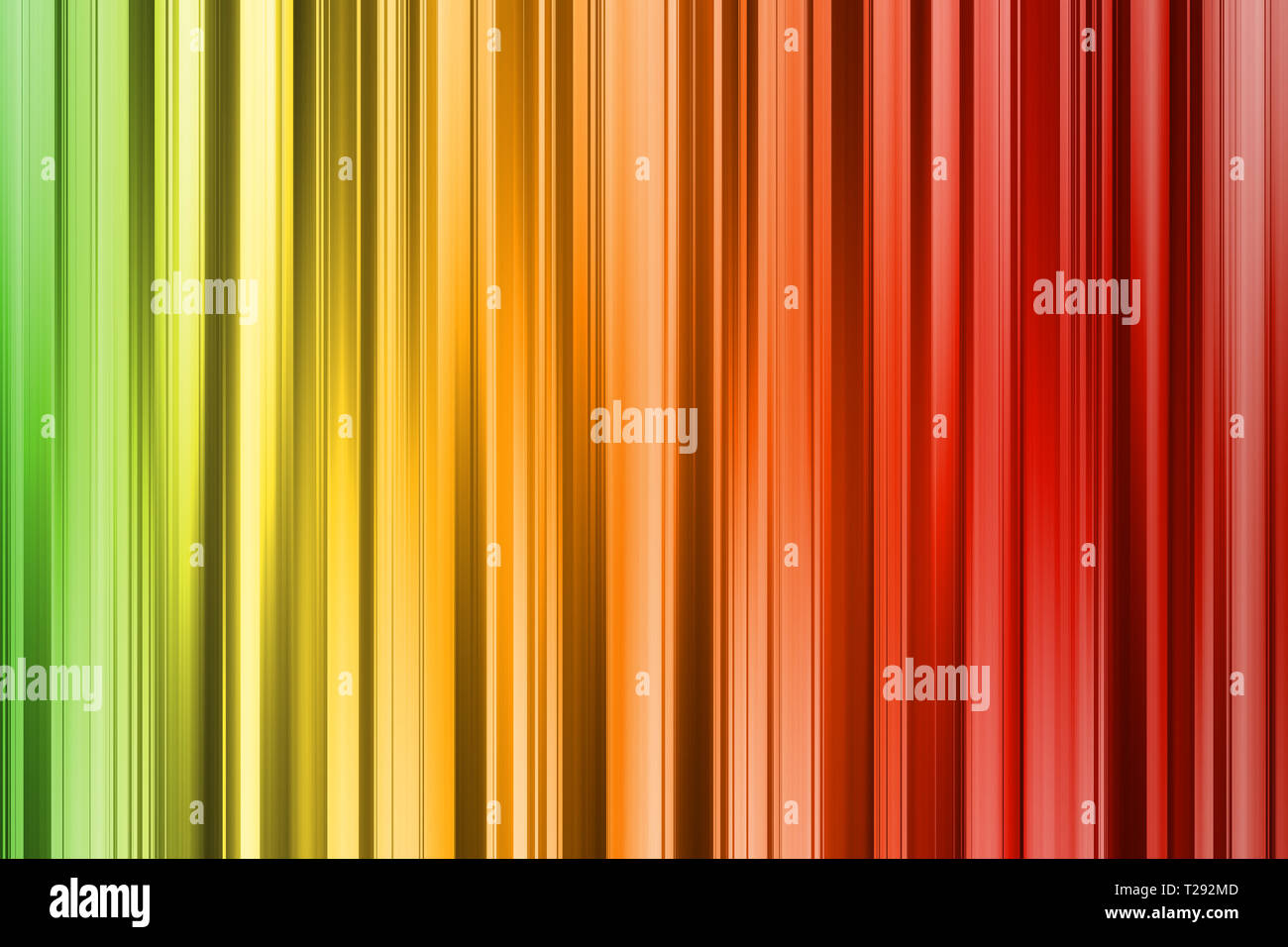 Green Yellow Orange Red Lines Dark And Light Abstract