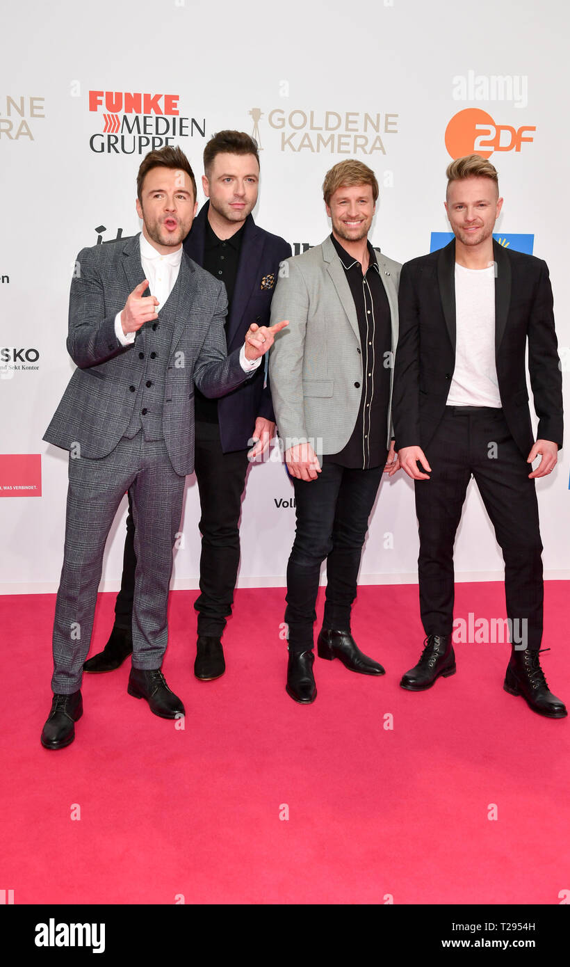 Berlin, Germany  30th Mar, 2019  The band Westlife at the