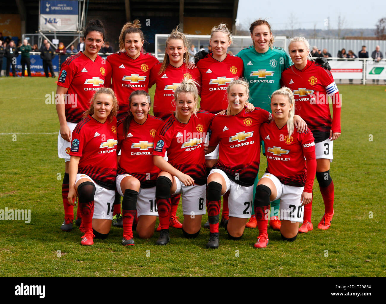 Manchester United Fc Team High Resolution Stock Photography And Images Alamy