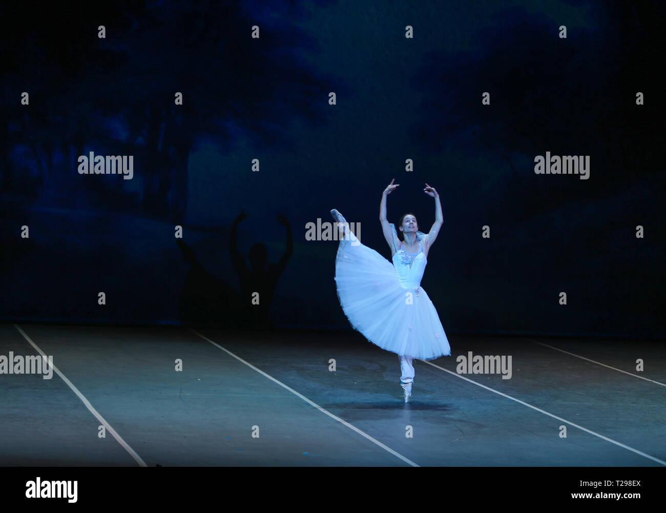 London, UK  31st Mar, 2019  The world famous Bolshoi ballet